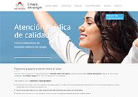 Diseño de página web - cirugiasinsangre.es