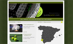quedapadel.com - página web y red social